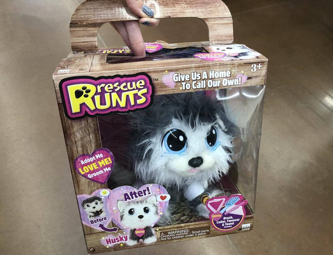 Top 2018 Christmas Toys for Amazon - Rescue Runts pets