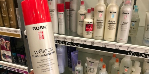$7.99 Rusk W8less Hairspray, $8.99 Healthy Sexy Hair Products + More at Ulta Beauty