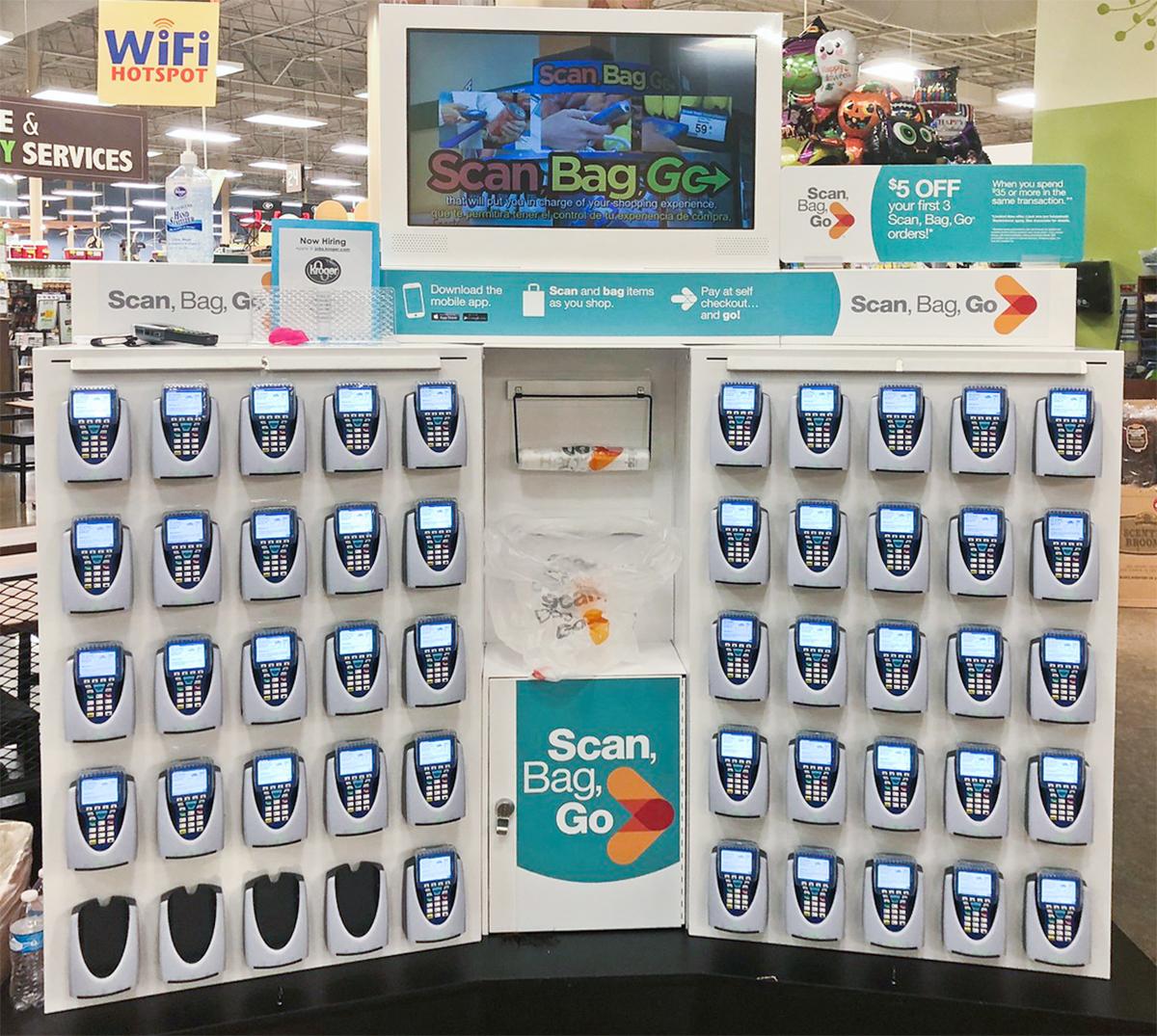 kroger scan bag go program – kiosk