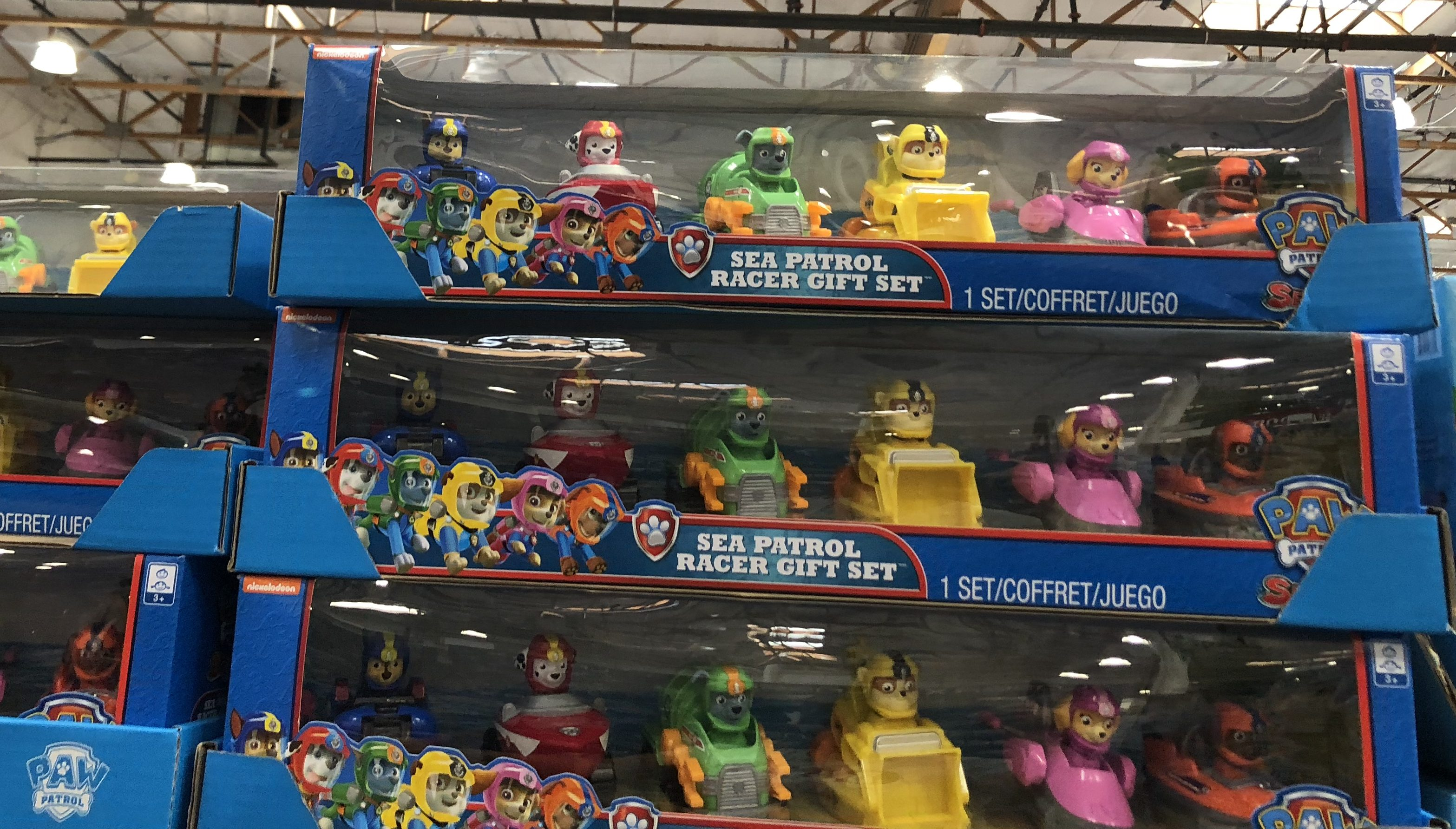 The best holiday toy deals for 2018 include the Sea Patrol Racer Gift Set at Costco