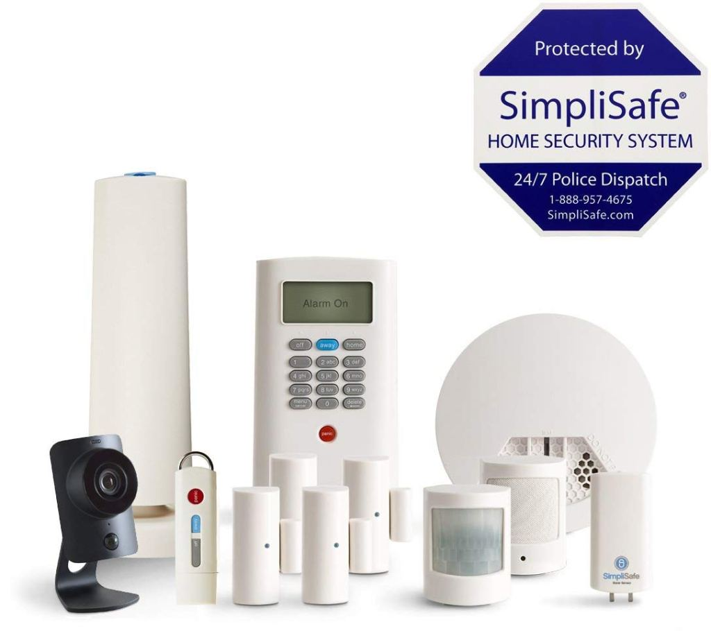 Amazon Simplisafe Home Security System 199 99 Shipped W Hd