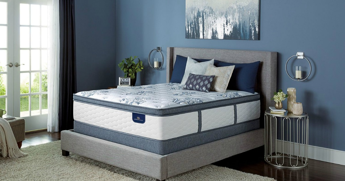 For A Limited Time Hop On Over To Sam Sclub Where Members Can Score Some Nice Deals Serta Kerington Mattress Sets Valid Online Only