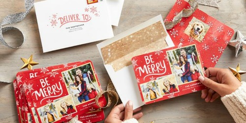 10 Free Shutterfly Custom Cards & Envelopes (Just Pay Shipping)
