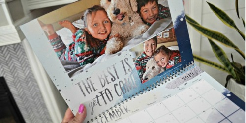 Free Shutterfly Personalized Calendar (Just Pay Shipping)