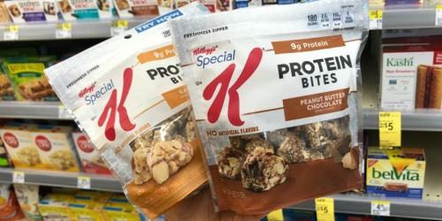 Kellogg's Special K Bars or Bites Only $1.45 After Cash Back at Walgreens (Just Use Your Phone)