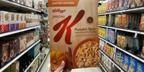 Special K Pumpkin Spice Cereal Only $1.50 at Target