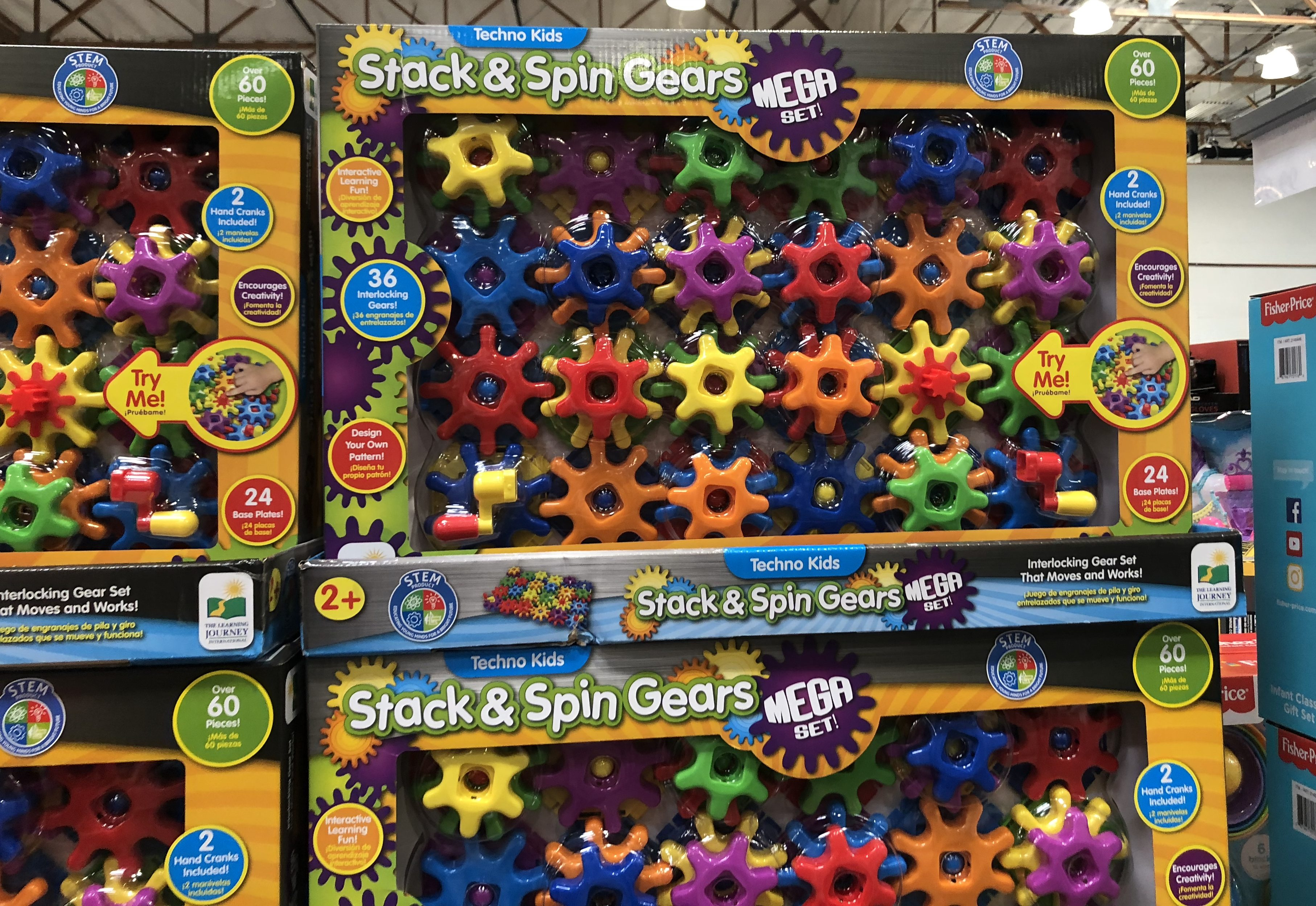 The best holiday toy deals for 2018 include Stack & Spin Gears at Costco