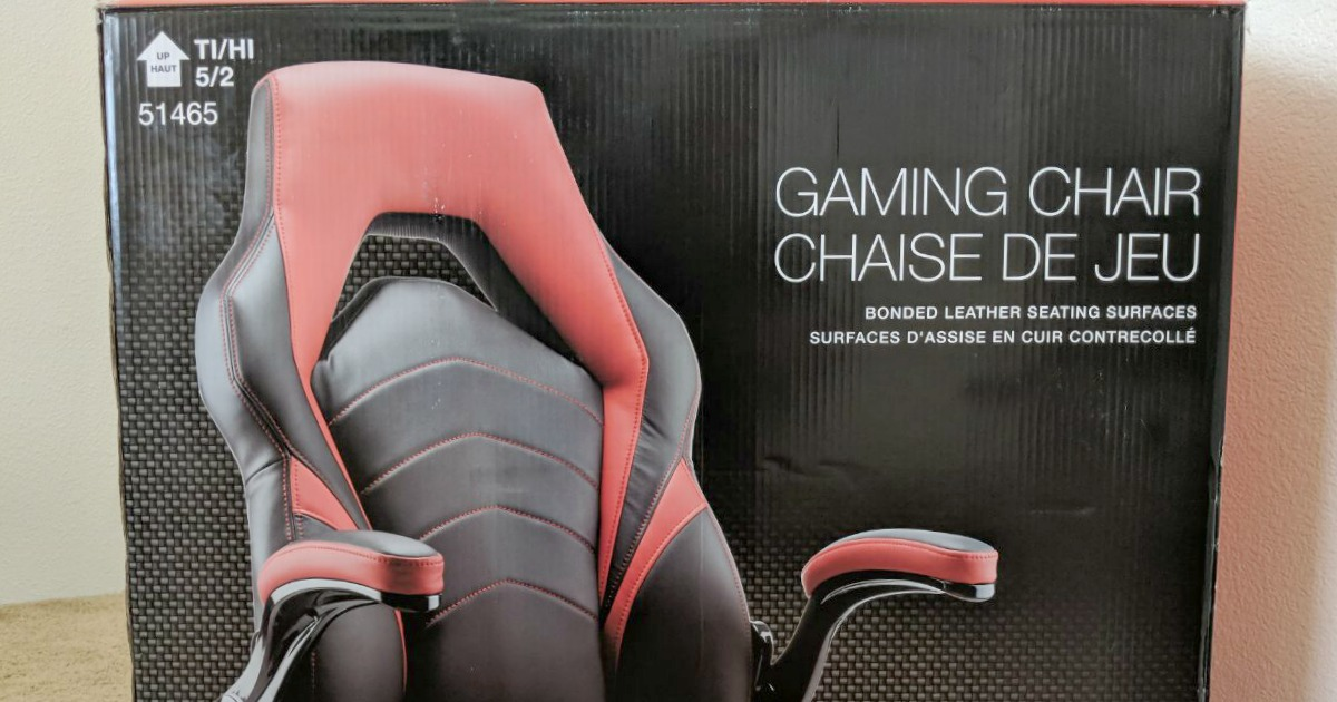 Staples Gaming Chair Only 99 99 Free Next Day Shipping