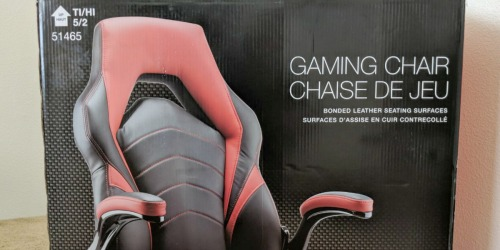 Staples Gaming Chair Only $75.58 Shipped (Regularly $200)