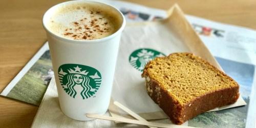FREE $5 Starbucks Bonus Gift Card w/ $10+ Card Purchase Using Masterpass (Ends Tonight)