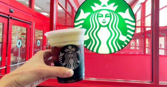 20% Off Starbucks Espresso Beverages at Target Cafe (Just Use Your Phone)