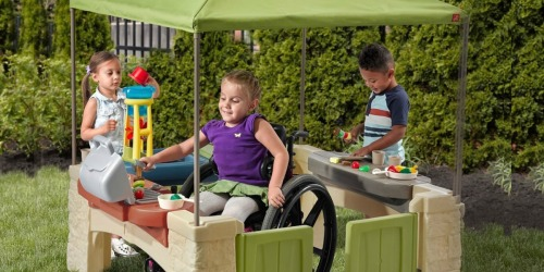 Step2 All Around Playtime Patio with Canopy Playhouse Only $124.99 Shipped (Regularly $200)