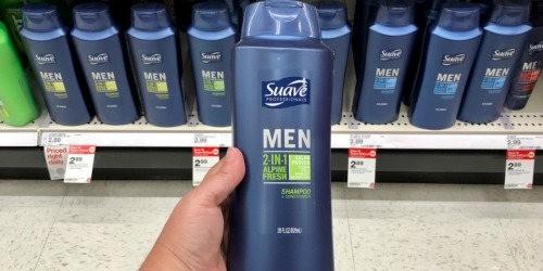 Suave Men's Hair Care Just $1.22 Each After Target Gift Card