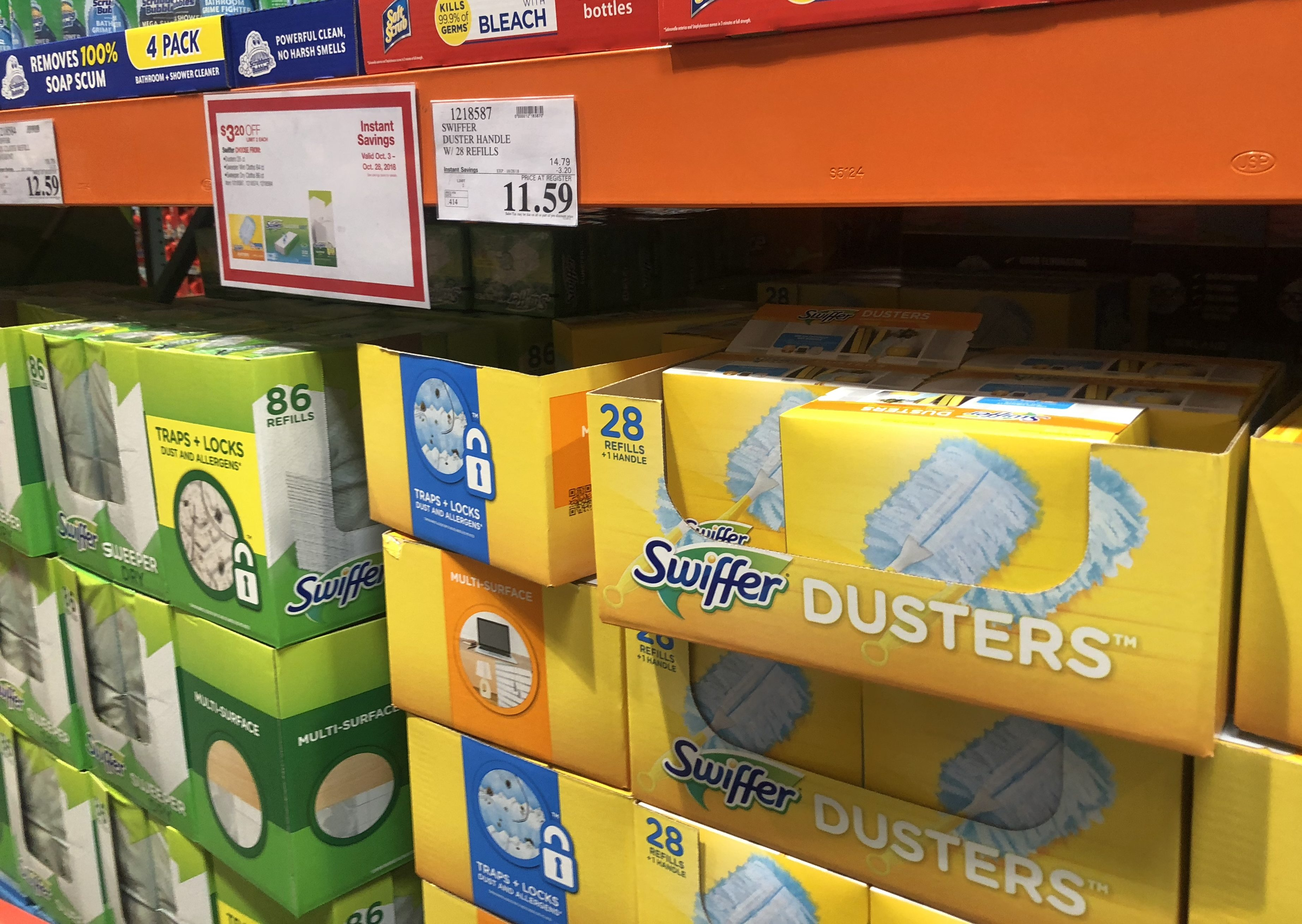 Costco deals October 2018 – Swiffer products at Costco