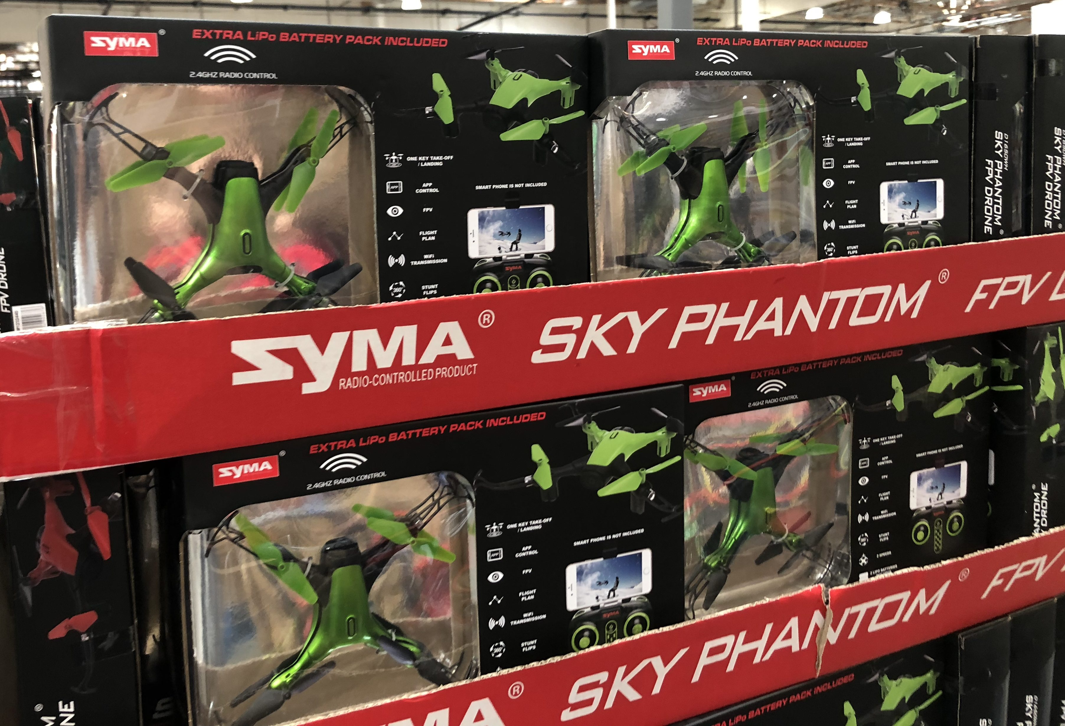 The best holiday toy deals for 2018 include the Syma sky phantom at Costco