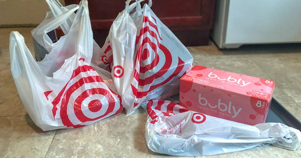 Target shopping bags from Shipt