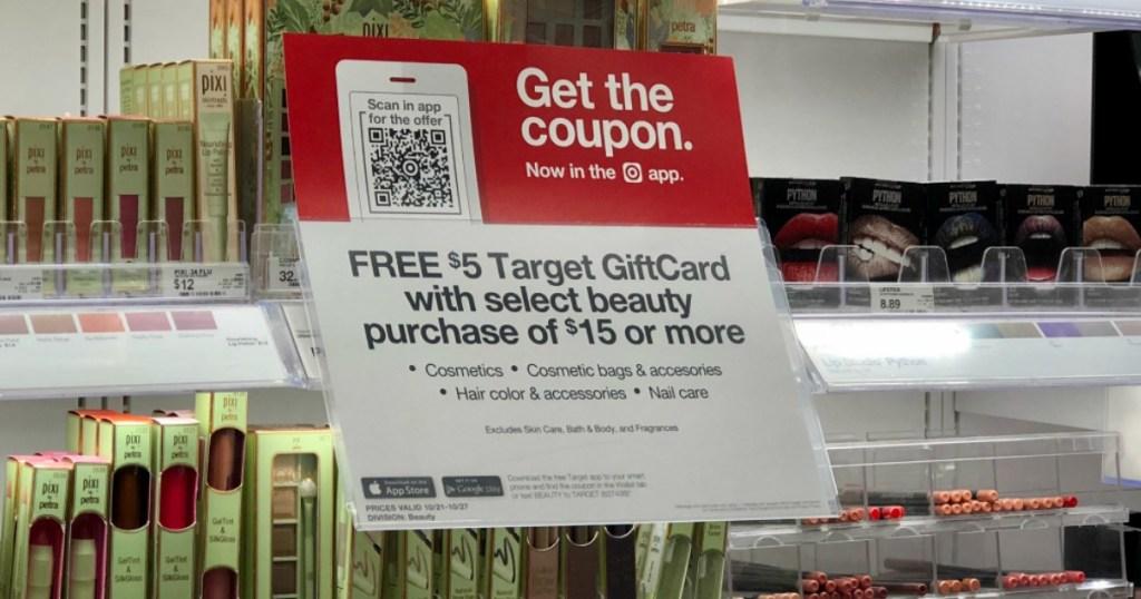 Target gift card offer