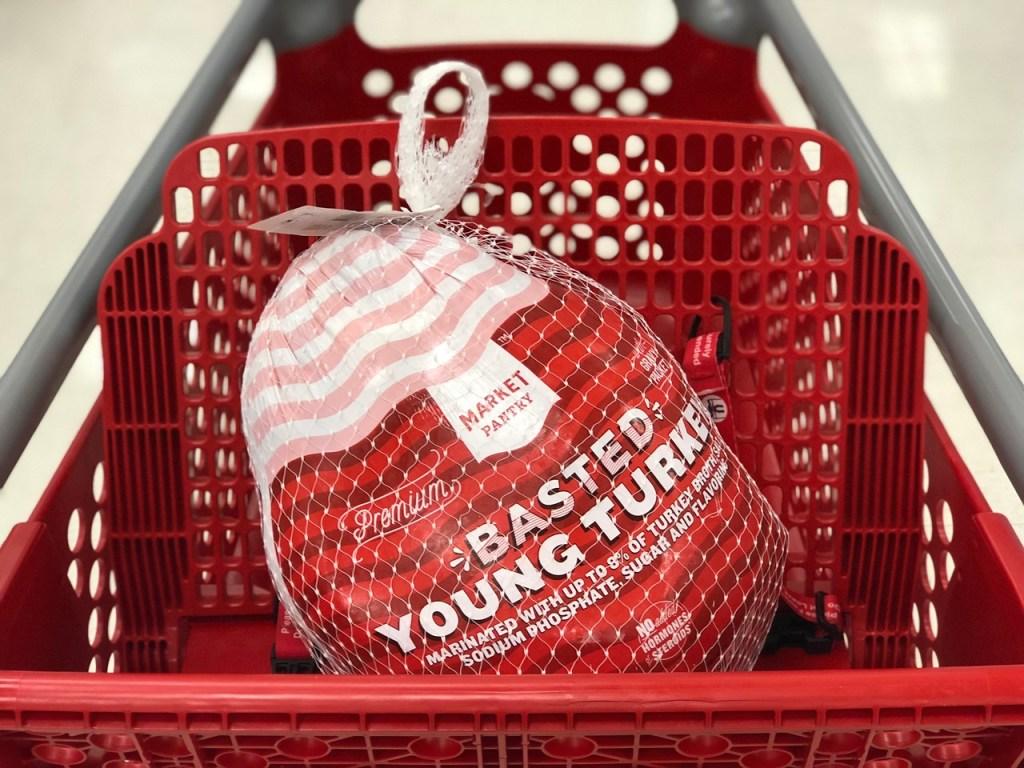 target market pantry turkey in cart