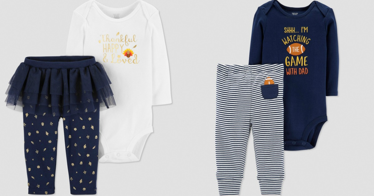 13c3e8ce2 50% Off Carter's Baby Thanksgiving Outfits & Accessories at Target.com -  Hip2Save