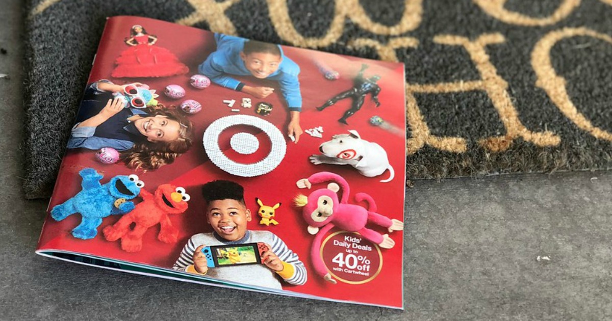 target 2018 toy catalog and gift card – The catalog