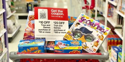 Up to $25 Off Toys & Games Target Coupon (Starting 12/8)