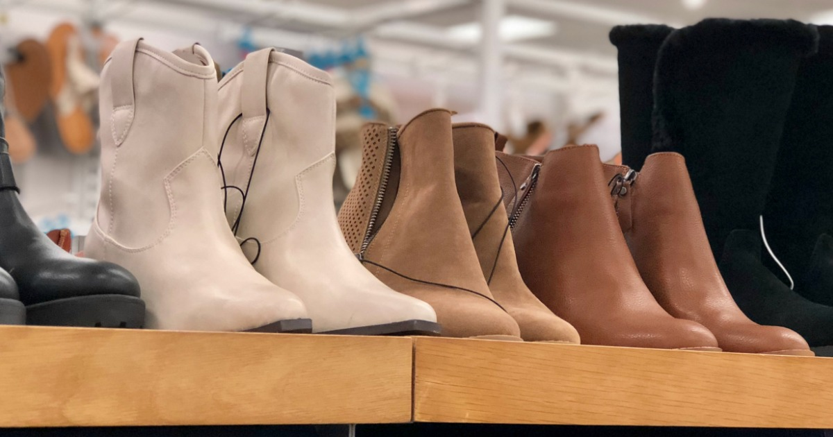 target & walgreens deals, coupons, & freebies 10-17-2018 – Target Women's Boots