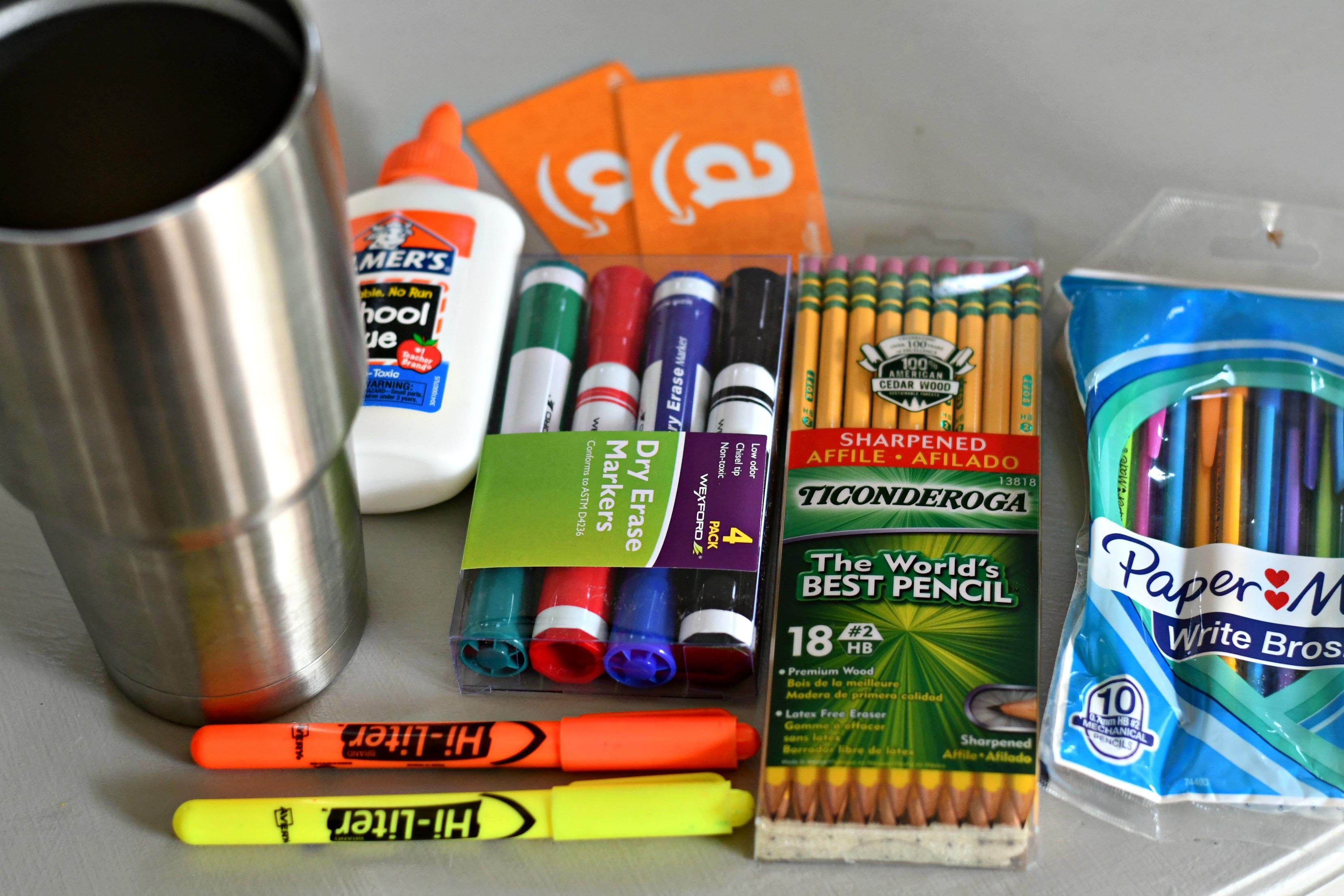 DIY Tumbler Gift basket ideas – Teacher gift contents