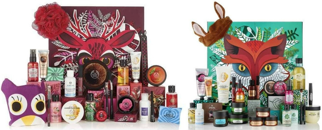 best 2018 advent calendars for kids and adults – The Body Shop deluxe advent calendars