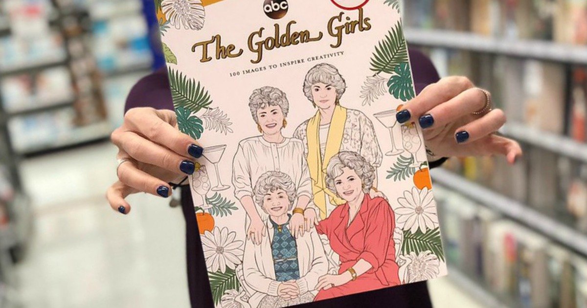 The Golden Girls Coloring Book Only 12 79 Regularly 16 Hip2save
