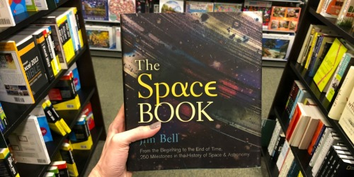 The Space Book Hardcover Just $7.48 (Regularly $30) – Over 500 Pages