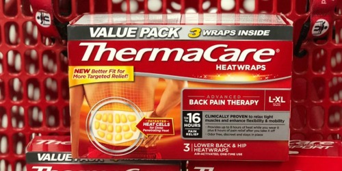 ThermaCare Heat Wraps 3-Pack Only $3.40 After Cash Back at Target