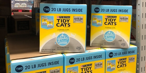 Purina Tidy Cats w/ Glade Cat Litter 20-Pound Jug Twin-Pack Only $10.98 at Sam's Club