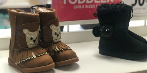 Toddler Boots Only $13.33 Each at JCPenney.com (Regularly $40) + More
