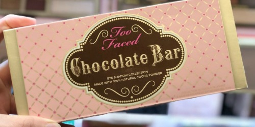 Too Faced Chocolate Bar & Bon Bons Eyeshadow Palettes + Mascara Only $49 Shipped ($110 Value)