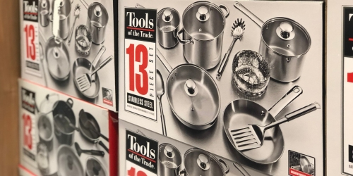 Tools of the Trade 13-Piece Cookware Sets Only $29.99 Shipped (Regularly $120) at Macy's