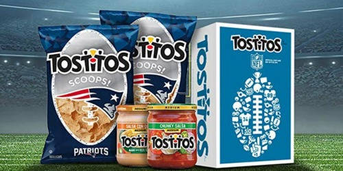 Amazon: Tostitos NFL Chips & Dip Party Box Just $14.99 (Regularly $20)