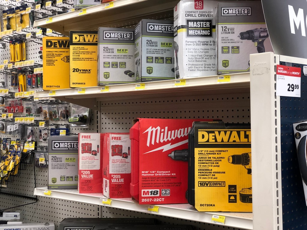 best true value hardware black friday deals 2018 – shelves in the store stocked with merchandise