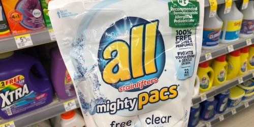 New All & Snuggle Laundry Coupons = Mighty Pacs Just $2 at Walgreens & CVS