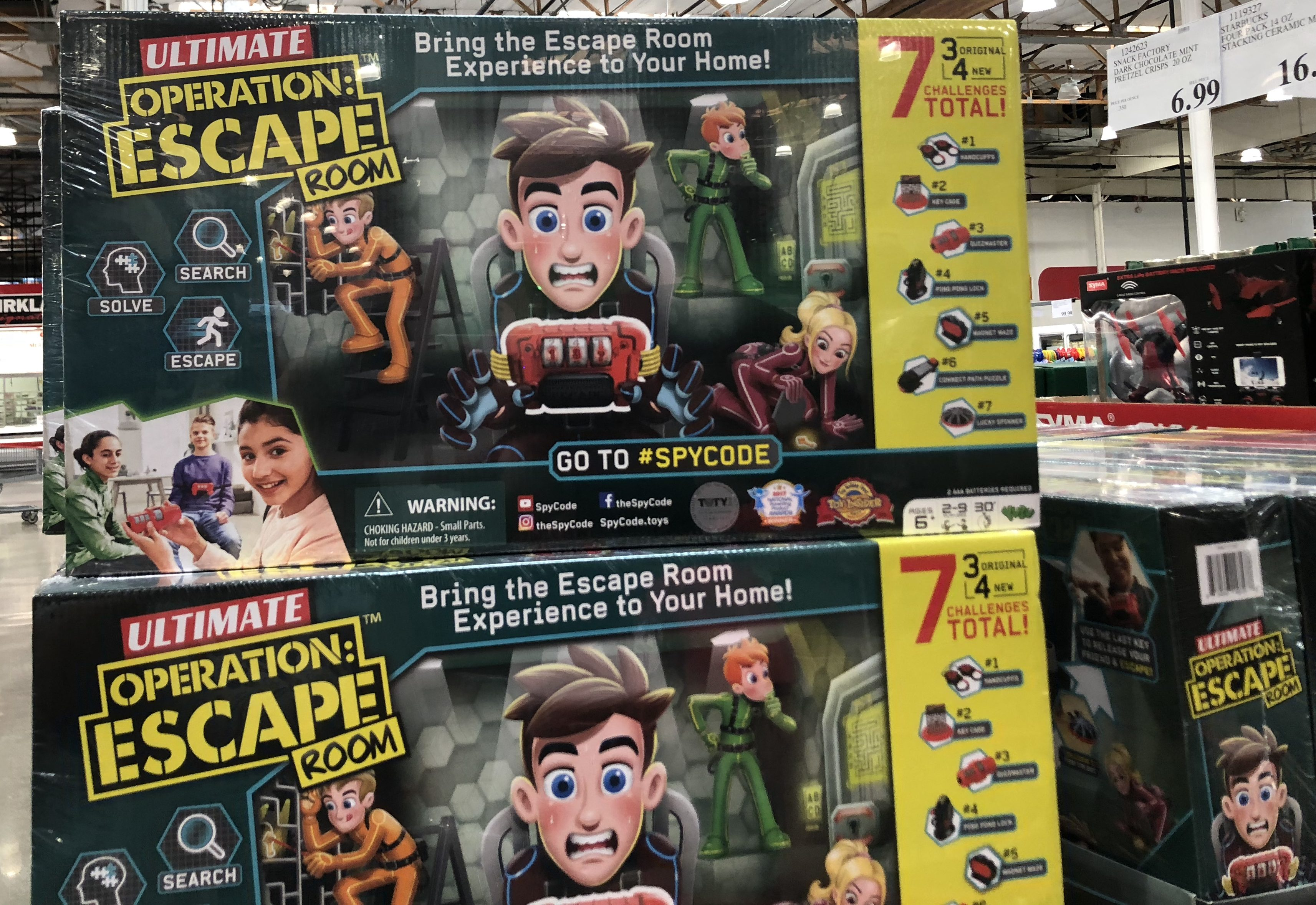 The best holiday toy deals for 2018 include the Ultimate Escape Room Game at Costco