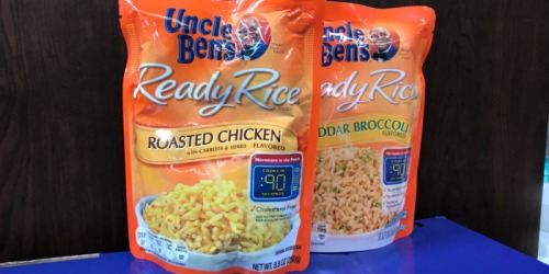 Free Uncle Bens Ready Rice For Kroger & Affiliate Shoppers