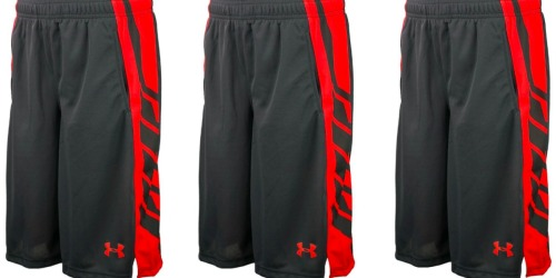 Under Armour Boys Basketball Shorts Only $11 Shipped (Regularly $30)
