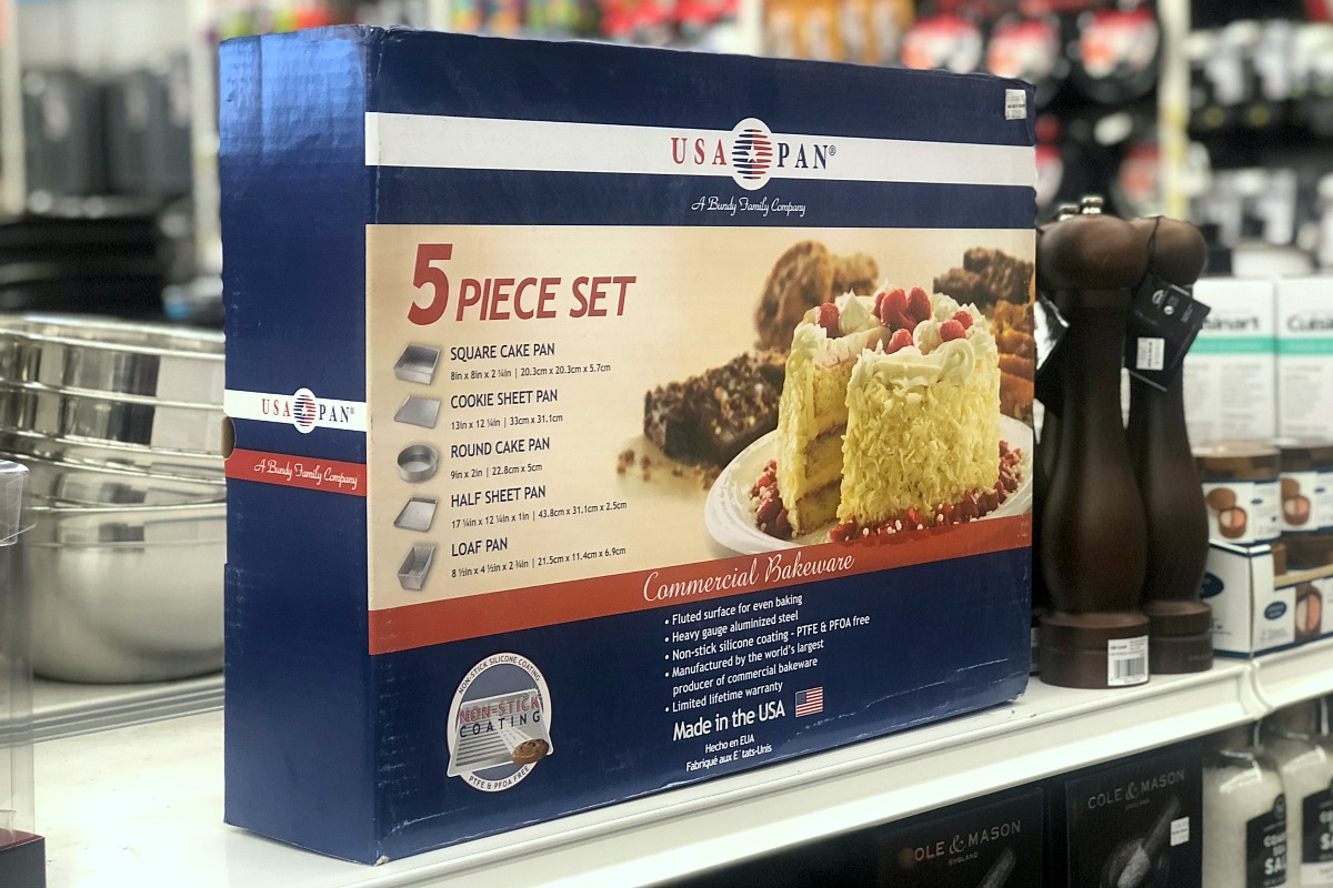 gift guide for chefs and cooks — usa pan 5 piece set