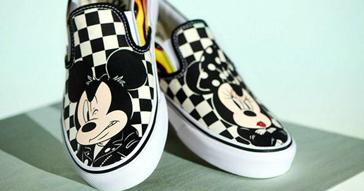 50f9309bf0e Mickey Mouse 90th anniversary Vans Collection – Vans classic mickey sneakers