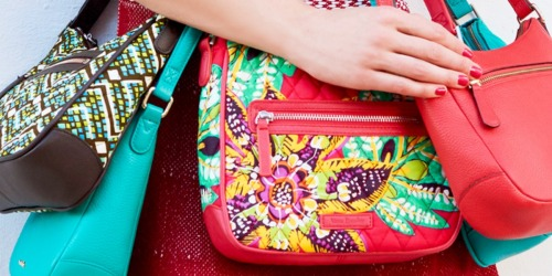 Up to 80% Off Vera Bradley Bags & Wristlets + Free Shipping