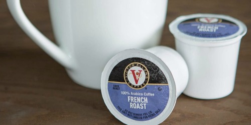 Victor Allen Coffee K-Cups as Low as 21¢ Each Shipped at Amazon