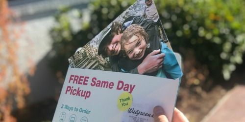 Walgreens Photo: Free 8×10 Photo Print w/ Free In-Store Pickup (Last Day)