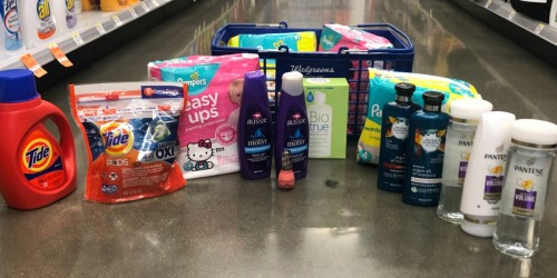 Over $117 Worth of Pampers, Tide, Pantene & More ONLY $40.76 Shipped at Walgreens.com