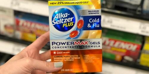 FREE Alka-Seltzer Plus PowerMax Gels After Rebate