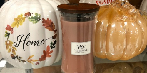 Large WoodWick Candles Possibly Only $12.99 at T.J. Maxx