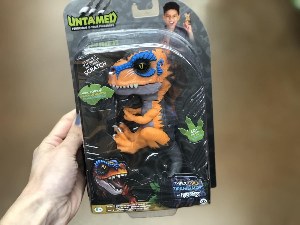 Top 2018 Christmas Toys for Amazon - WowWee Untamed T-Rex by Fingerlings